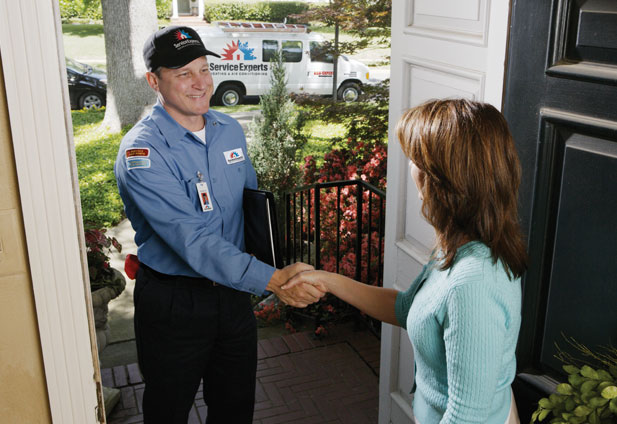 in-home estimate from Falso Service Experts Heating & Air Conditioning